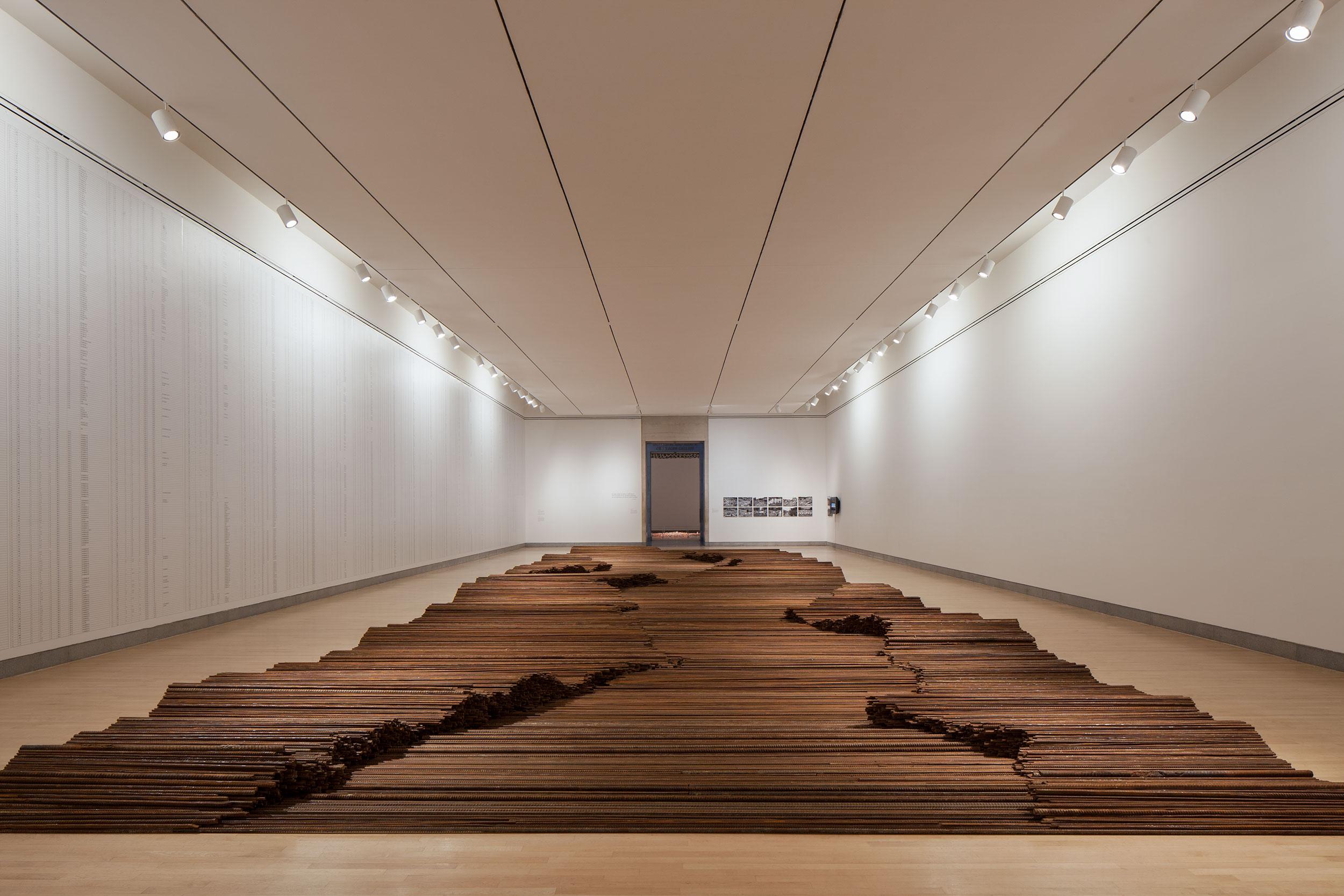 Ai Weiwei exhibit signage