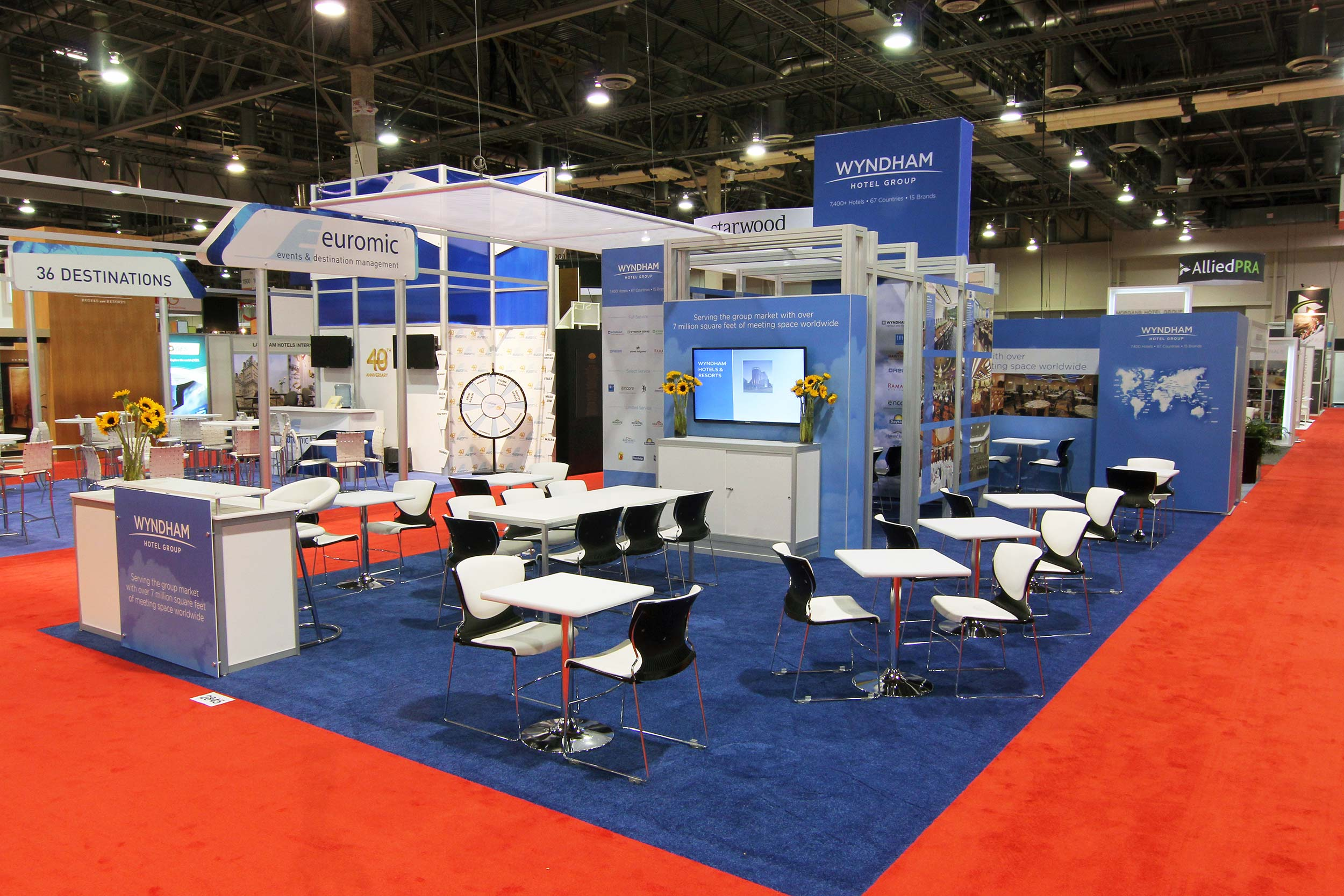 IMEX booth